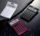 "17415  Калькулятор CASIO, 12 разр., серия ""Stylish"" casJW-200TV-бордо"